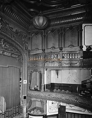Collins' Music Hall Auditorium - Courtesy Peter Charlton.
