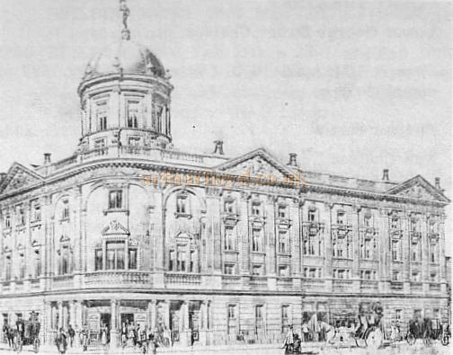 The Coronet Theatre, Notting Hill Gate from a Sketch in 'The Builder' of 1898
