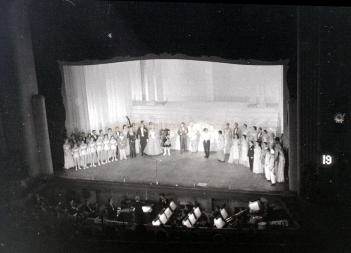 Act 19 of a Variety show at the Coventry Hippodrome in October 1955 - Courtesy Allan Hailstone.
