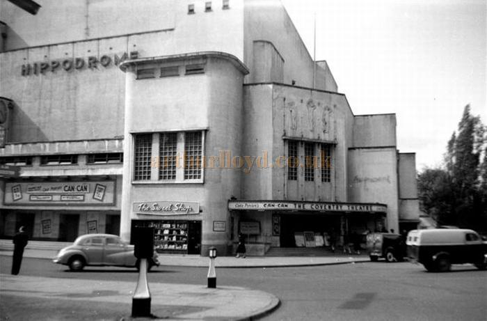 The Coventry Hippodrome during the run of Can-Can on the 7th of May 1956 - Courtesy Gerry Atkins