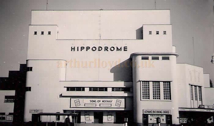 The Coventry Hippodrome during the run of 'Song of Norway in October 1949 - Courtesy Allan Hailstone.