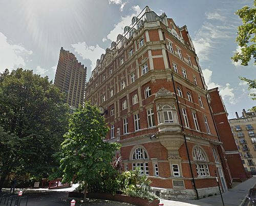 A Google StreetView Image of Cripplegate House, former home of the Cripplegate Theatre - Click to Interact.