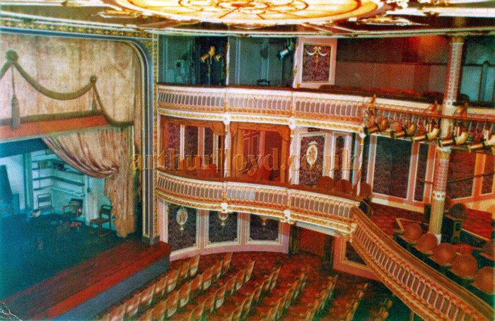 A Postcard showing the auditorium of the Criterion Theatre in the 1970s - Courtesy Roger Fox