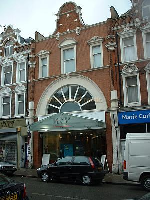 The remains of the Crouch End Hippodrome building in 2004 -Photo M.L.