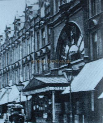 The Queen's Opera House, Crouch End, later the Hippodrome, from the book 'Images of Hornsey and Crouch End' by Ken Gay.