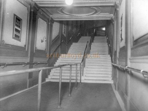 The entrance stairs to the Croydon Empire Theatre - Photo Richard Norman - Courtesy Les Osman and Richard Norman.