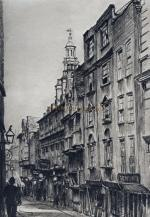 Right - For more images of King Street and London's lost Streets see the Disappearing London page here.