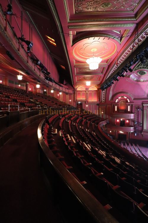 The Auditorium of the Dominion Theatre in August 2017 - Courtesy Christian Clark.