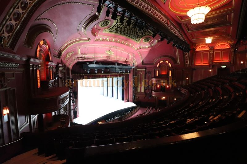The Auditorium and Stage from the Dress Circle of the Dominion Theatre in August 2017 - Courtesy Christian Clark.