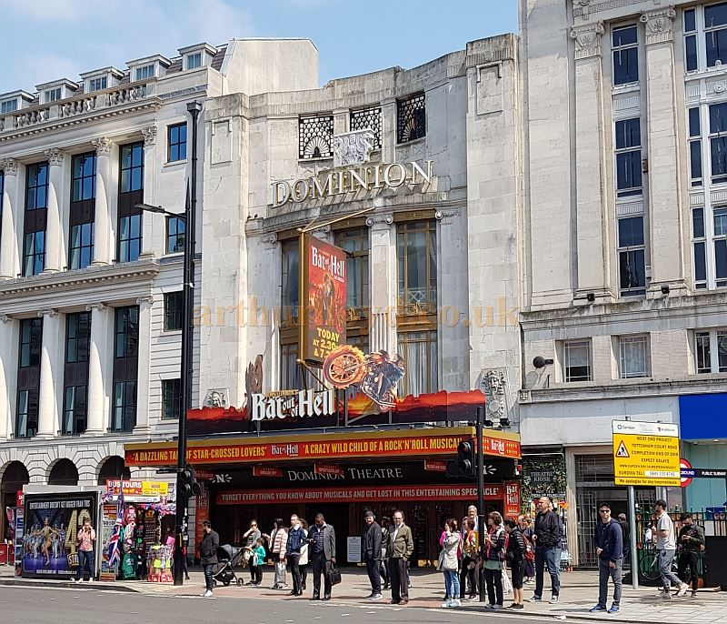 The Dominion Theatre Tottenham Court Road London