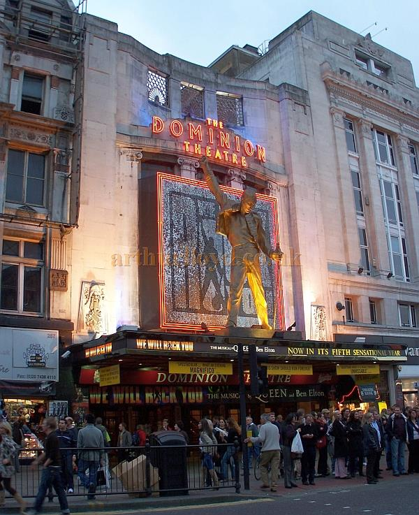 The Dominion Theatre During Run Of We Will Rock You In October 2006