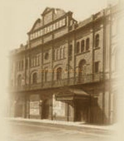 The Grand Theatre, Doncaster in the early 1900s - Courtesy 'The Friends of the Doncaster Grand'