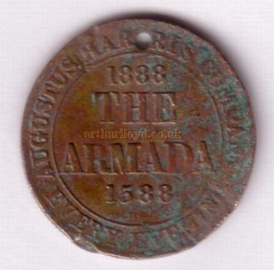 Armada Coin very kindly donated by Alan Harvey.