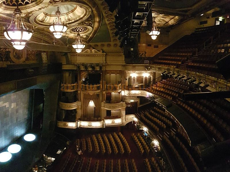 The Auditorium of the Theatre Royal, Drury Lane in June 2016 - Photo M.L.