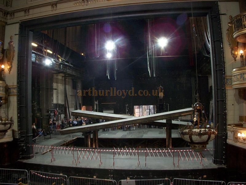 the substage and hydraulic lifts at the theatre royal