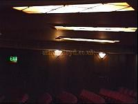 View of the concealed lighting in the stalls of the Duchess Theatre in the 1990s. - Photo M.L.