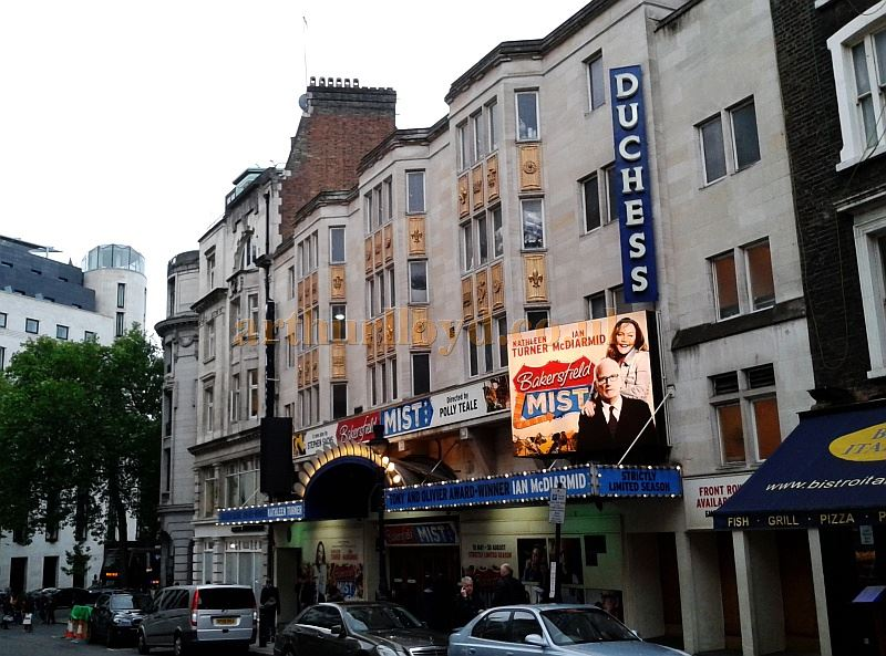 The Duchess Theatre Catherine Street London Wc2