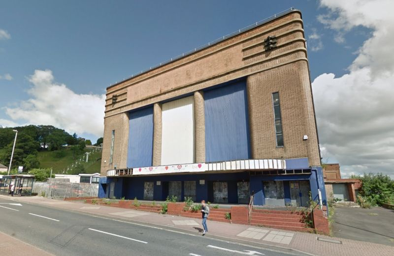 A Google StreetView Image of the Dudley Hippodrome - Click to Interact