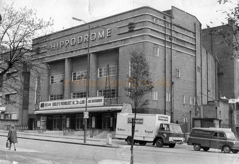 An early photograph of the Dudley Hippodrome - Courtesy the RF Collection.