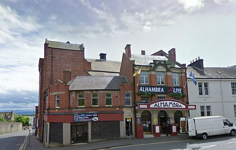 the alhambra theatre canmore street dunfermline. Black Bedroom Furniture Sets. Home Design Ideas