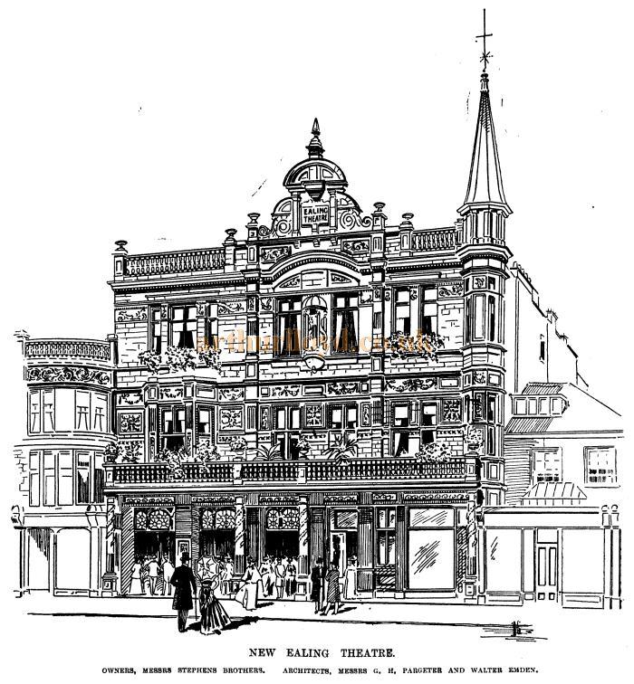 Lyric lyric theatre london : The Ealing Theatre, Broadway, Ealing, London
