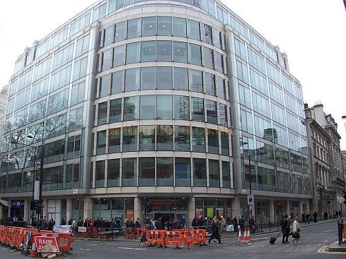 The building currently on the site of the former Holborn Restaurant, High Holborn and Kingsway in 2008 - Photo M.L.7