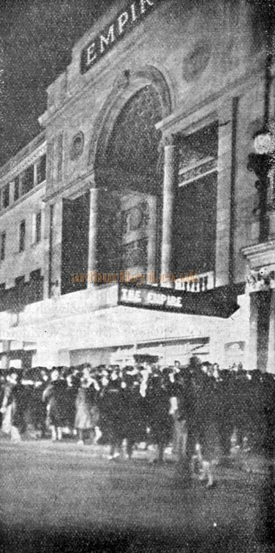 The Second Empire Theatre - From The Weekly Kinema Guide, 12th of January 1930.