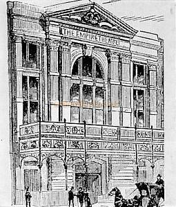 The First Empire Theatre 1884