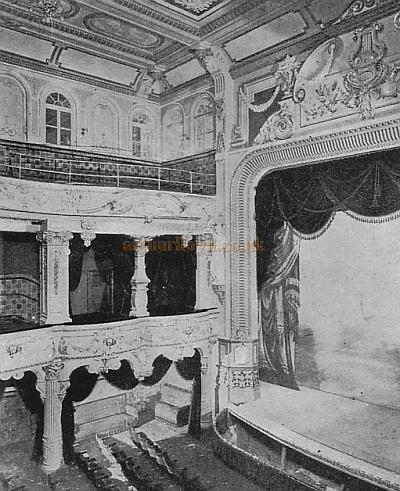 A Glimpse of the Auditorium and stage of the New Euston Theatre of Varieties - From 'The Sketch' December 26th 1900