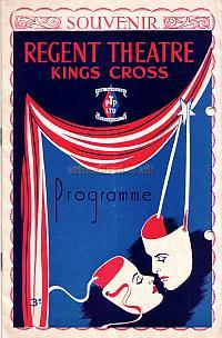 The 50th year Souvenir Programme for the Regent Theatre, King's Cross during the run of 'Cinderella'.
