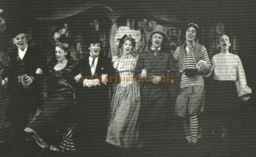 Production Photograph of 'Castle Music Hall' at the Castle Theatre, Farnham - Courtesy Alan Chudley.