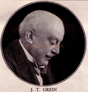 J. T. Grein - From a programme for 'The Man From Blankleys' at the Fortune Theatre in October 1930.