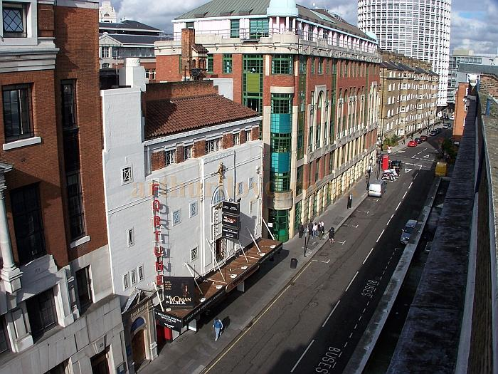 The Fortune Theatre from the roof of the Theatre Royal Drury Lane in 2006 - Photo M.L.