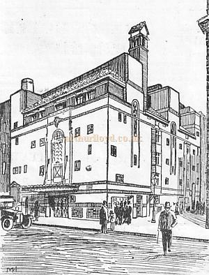 The Fortune Theatre in the 1930s