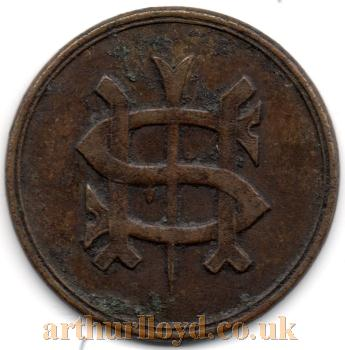 An Entrance Token for the Strand Music Hall - Courtesy Alan Judd