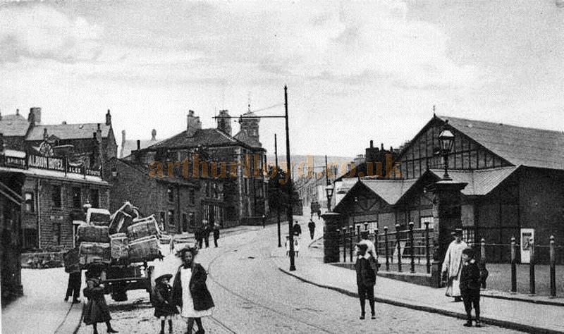 Victoria Street, Glossop and the Theatre Royal - Courtesy Trefor Thomas