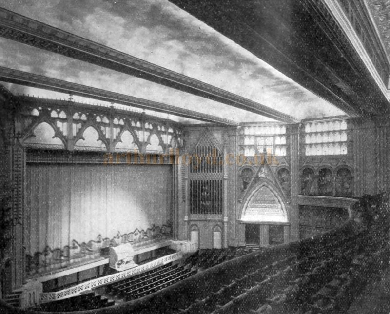 The Auditorium of the Granada Theatre, Tooting - From the Bioscope Cinema Magazine of September 1931