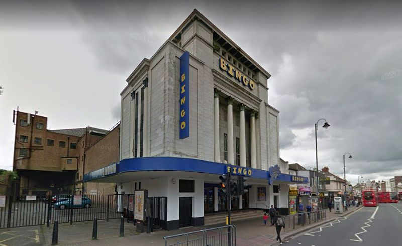 A Google Streetview Image of the Granada, Tooting - Click to Interact.