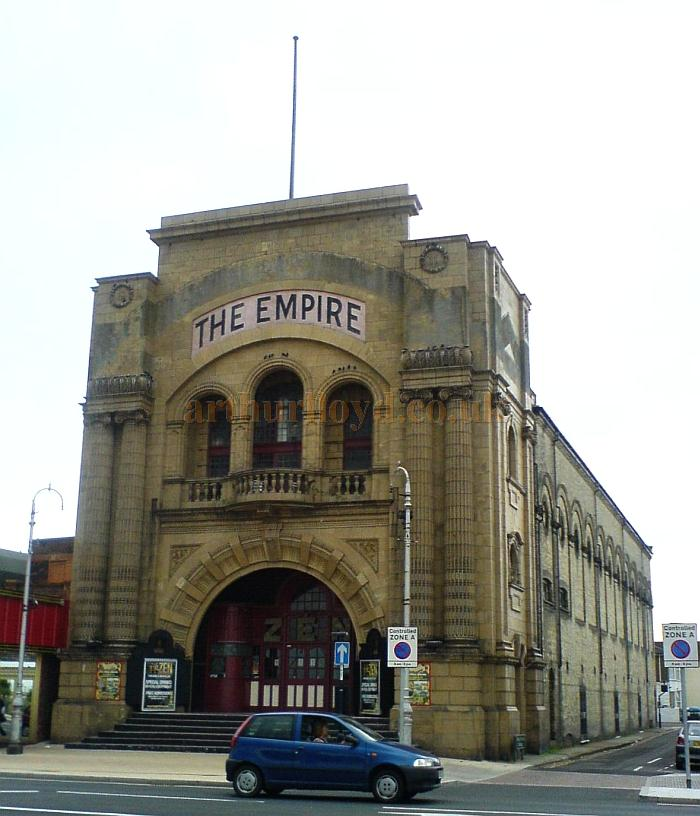 The Empire Theatre, Great Yarmouth in 2007 - Courtesy Charles Bowman