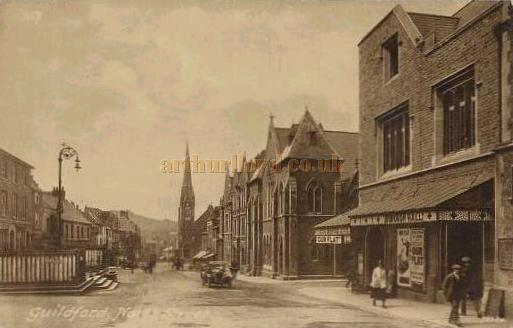The Borough Hall in North Street, Guildford - From a postcard circa 1920
