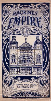 Programme for 'The Far East' at the Hackney Empire August 16th 1920 - Click for details.