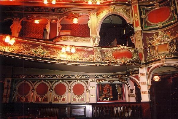 The Auditorium of the Hackney Empire in 1988 - Courtesy Ted Bottle