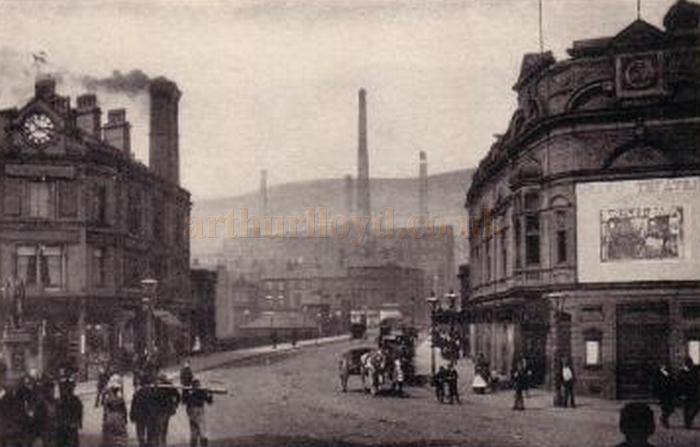 An early postcard view of the Grand Theatre, Halifax