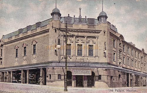 The Palace Theatre, Halifax which was built in 1903 by Runtz and Ford