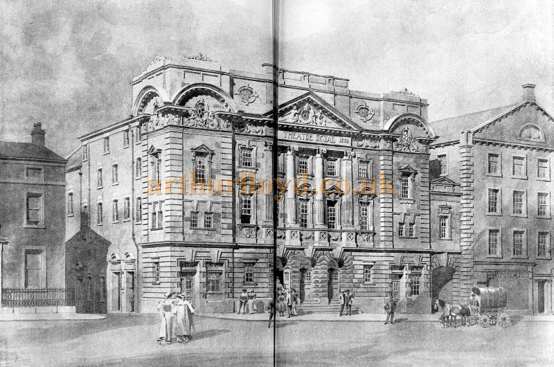 A Sketch of the Theatre Royal, Halifax - From The Building News and Engineering Journal, October 21st 1904