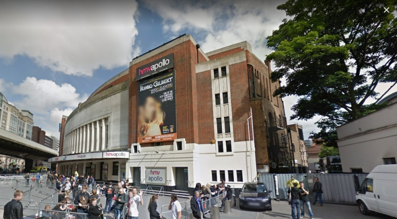 A Google StreetView Image of the Apollo, Hammersmith - Click to Interact.