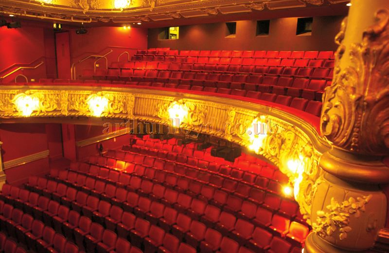 The auditorium of the Lyric, Hammersmith - Courtesy The Lyric Hammersmith.