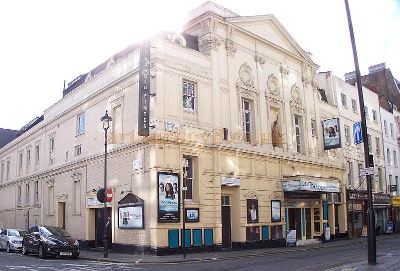 The Harold Pinter Theatre during the run of 'Death and the Maiden' which opened the Theatre with its new name on October 24th 2011 - Photo M.L.