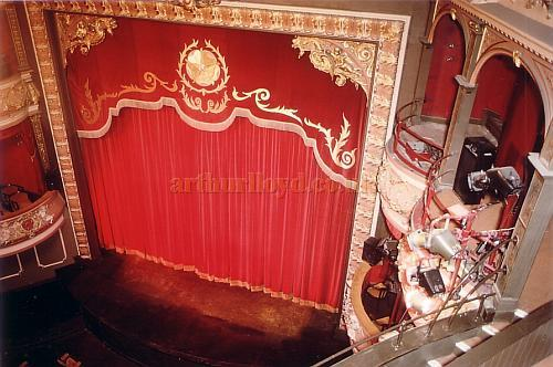 Auditorium of the Grand Opera House, Harrogate in 1986 - Courtesy Ted Bottle