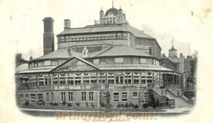 An early Postcard showing the Harrogate Kursaal - Courtesy George Eglese